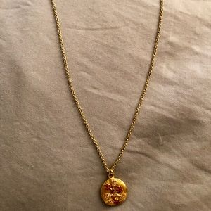 Jewelry - Gold Flower Pendant Necklace